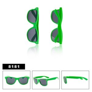 Neon Green Wayfarer Sunglasses Wholesale