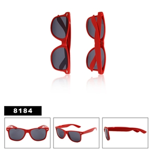 All Red Wayfarer Sunglasses