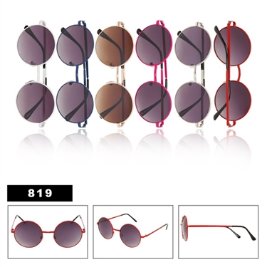 New Round Sunglasses 819