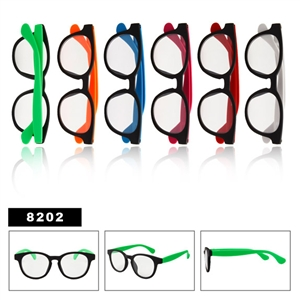 Clear Lenses Wayfarers 8202