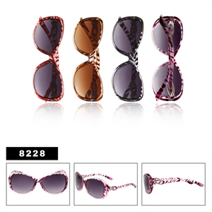 Animal Print Ladies Fashion Sunglasses Wholesale
