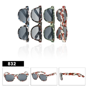 Wholesale Camo Wayfarers