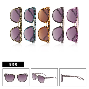 Animal Print Fashion Sunglasses