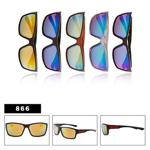 Wholesale Men's Mirrored Sunglasses