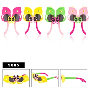 Wholesale Folding Butterfly Sunglasses for Girls