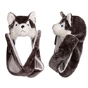 "Wholesale ""Grey Wolf with Long Arm "" Animal Hats A110"