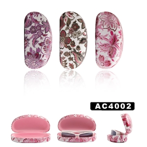 Large Sunglass Hard Case with Floral Print