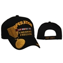 Wholesale Operation Enduring Freedom Caps comes in Black Color.
