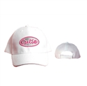 "Check out this ""Cutie"" caps they come in assorted colors great choice for the Junior kids."