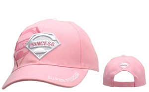 "Wanting Wholesale ""Super Princess"" Baseball Caps-"