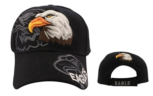 "Intelligent looking Wholesale Baseball Caps ""Eagles"" these comes in assorted colors."