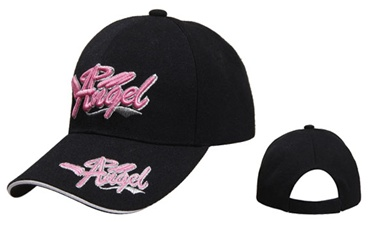 Check out theses Wholesale Novelty Baseball Hats comes in Black, White, and Pink.