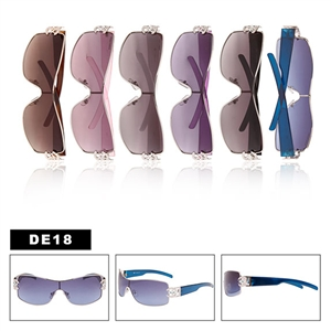 Stylish one lens design wholesale fashion sunglasses