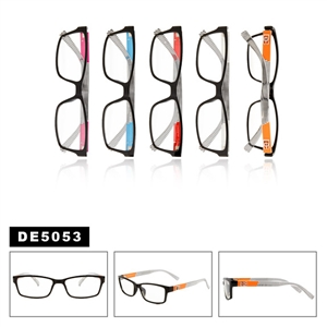 Wholesale Unisex Clear Lens Sunglasses