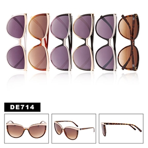 Vintage Cat Eye Sunglasses DE714