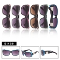 Rhinestone Diamond Eyewear Wholesale Sunglasses DI130