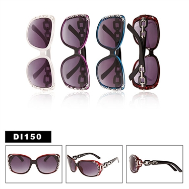 Designer Rhinestone Sunglasses for Ladies DI150