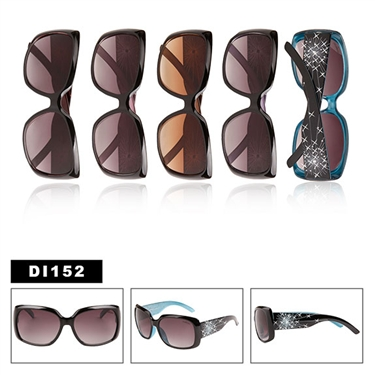 Designer Rhinestone Sunglasses for Ladies DI152