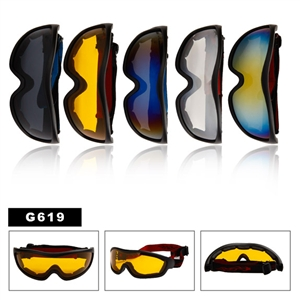 Awesome flame style wholesale goggles.