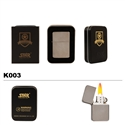Brass Oil Lighter-Silver Shimmer-K003