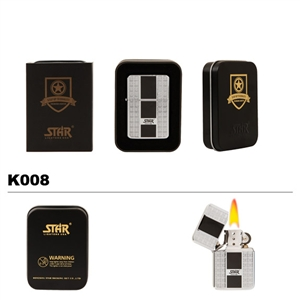 Brass Oil Lighter-STAR-K008