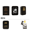 Brass Oil Lighter-Dragon-K014