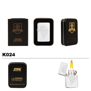 Brass Oil Lighter-Eagle-K024