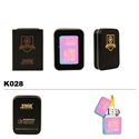 "Brass Oil Lighter-3-Color Finish ""I ♥ London""-K028"