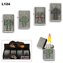Assorted Crosses oil lighters wholesale L124