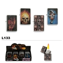 Assorted Skulls Wholesale Oil Lighters L133