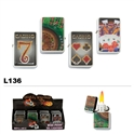 Assorted Casino Fun Wholesale Oil Lighter L136