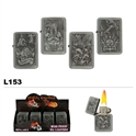 Assorted Eagles Wholesale Oil Lighters L153