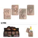 Assorted Wholesale Oil Lighters L154