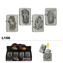 Assorted Mythical Wholesale Oil Lighters L156