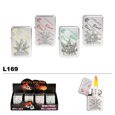 Assorted Pot Wholesale Oil Lighters L169