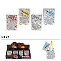 Assorted Gambling Wholesale Oil Lighters L171