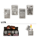 Assorted Pot Designs Wholesale Oil Lighters L176