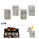 Assorted Reaper Wholesale Oil Lighters L179