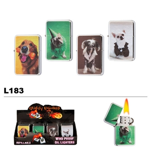 Assorted Dog Wholesale Oil Lighters L183