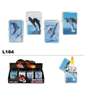 Assorted Dolphins Wholesale Oil Lighters L184