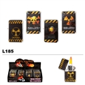 "Assorted ""WARNING"" Wholesale Oil Lighters L185"