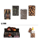 Assorted Animal Skins Wholesale Oil Lighters L188
