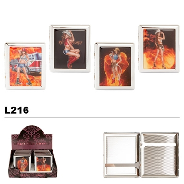 Assorted Cowgirls & Flames Cases for Cigarettes