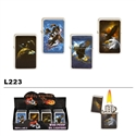 Assorted Bald Eagle Wholesale Oil Lighters