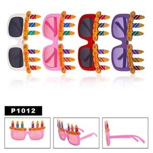Wholesale Party Sunglasses P1023 Happy Birthday
