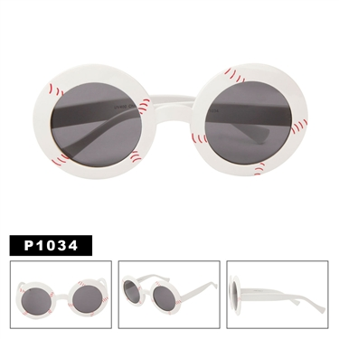 Baseballs Party Glasses