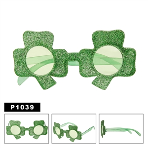 Four Leaf Clover Party Sunglasses