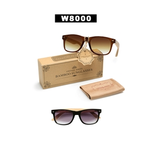 Wooden Wayfarer Sunglasses!