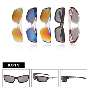 Great sporty sunglasses in pre-assorted dozens.