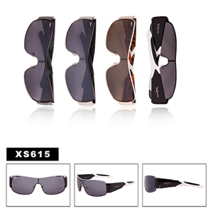 Sport Sunglasses with One Piece Lens XS615
